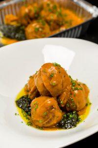Meat Balls & Sauce Marinara