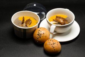 Butternut, Orange & Mushroom Soup