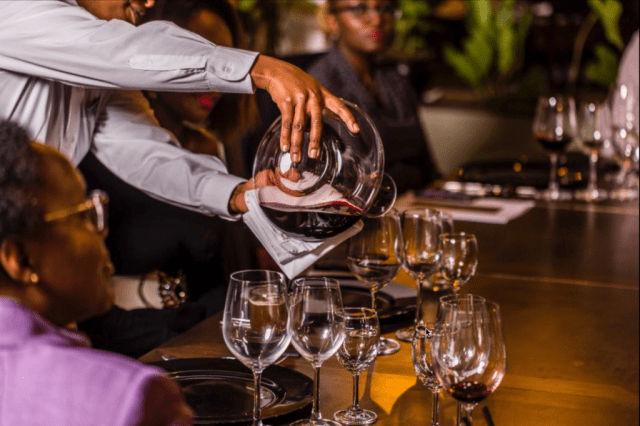 Five Senses Pouring Wine