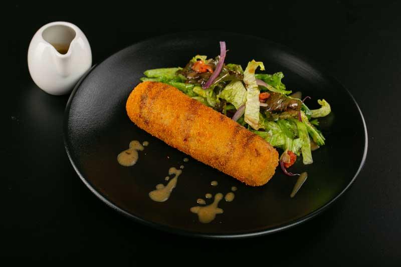 Gorgonotte (fish finger), sumac & coriander powder-sauce gribiche