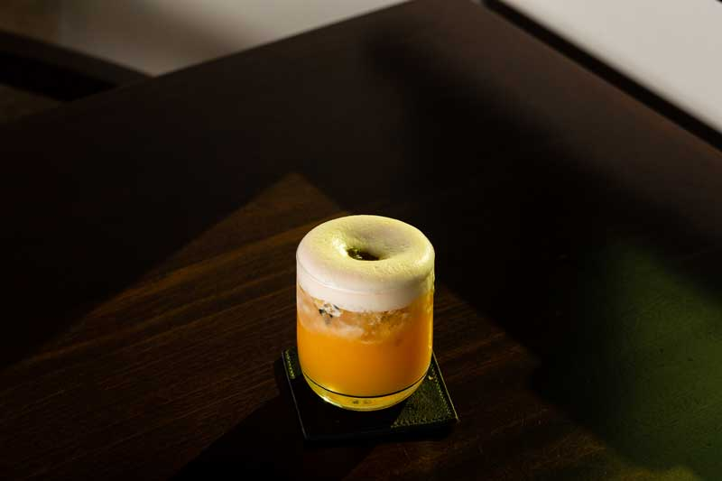Passion whisky sour