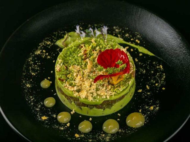 Tuna & avocado tartare
