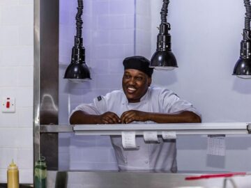 Culinary Arts Switzerland - 5 Senses chef Kimani